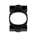 Эрекционное кольцо 2 вибропули ML Creation (My Love), черный