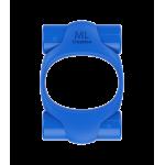 Эрекционное кольцо 2 вибропули Power Ring ML Creation (My Love), синий