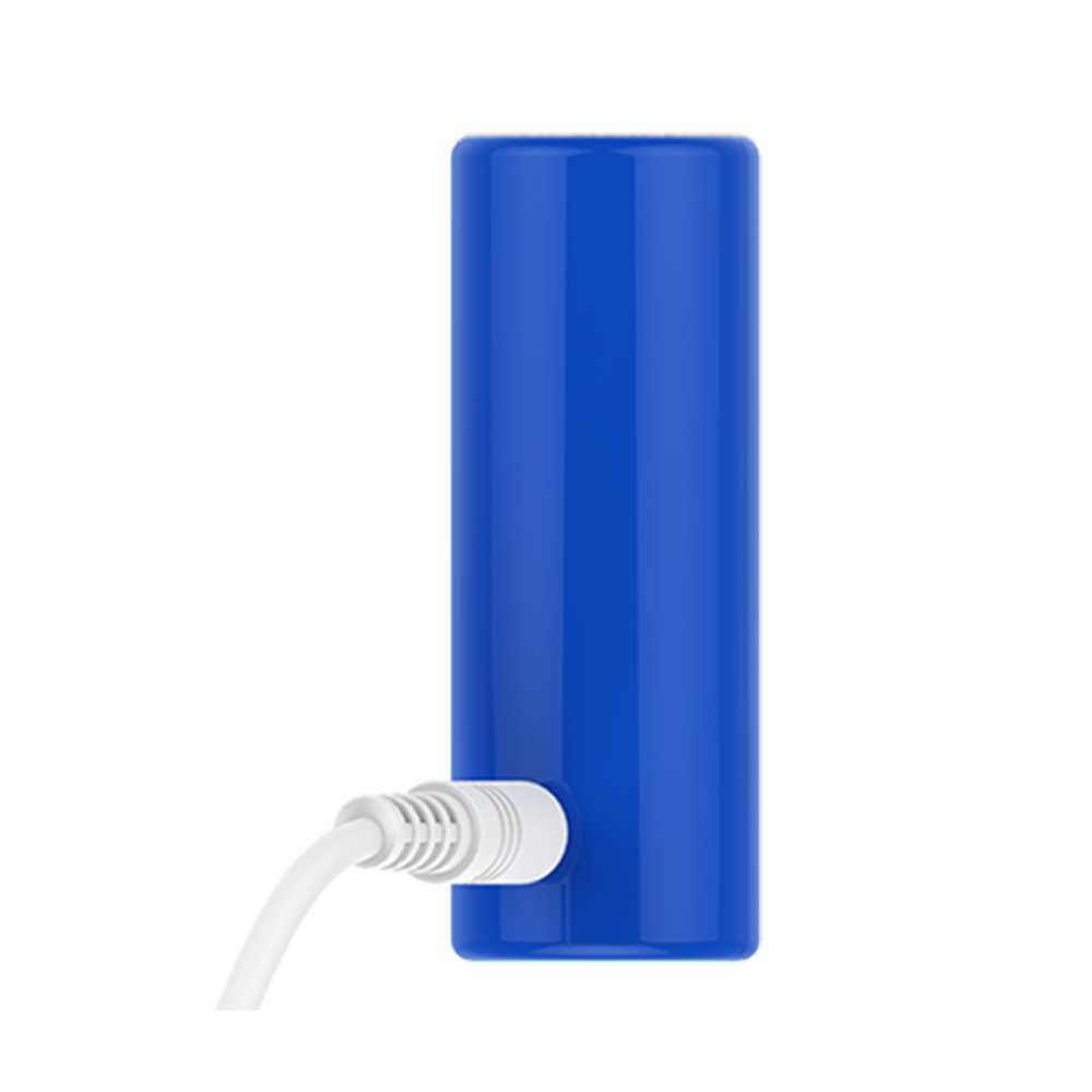 Эрекционное кольцо синего цвета 2 вибропули Power Ring ML Creation (My Love) (35100), фото 2 — секс шоп Украина, NO TABOO
