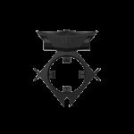 Эрекционное кольцо c вибропулей Batboy Black ML Creation (My Love)