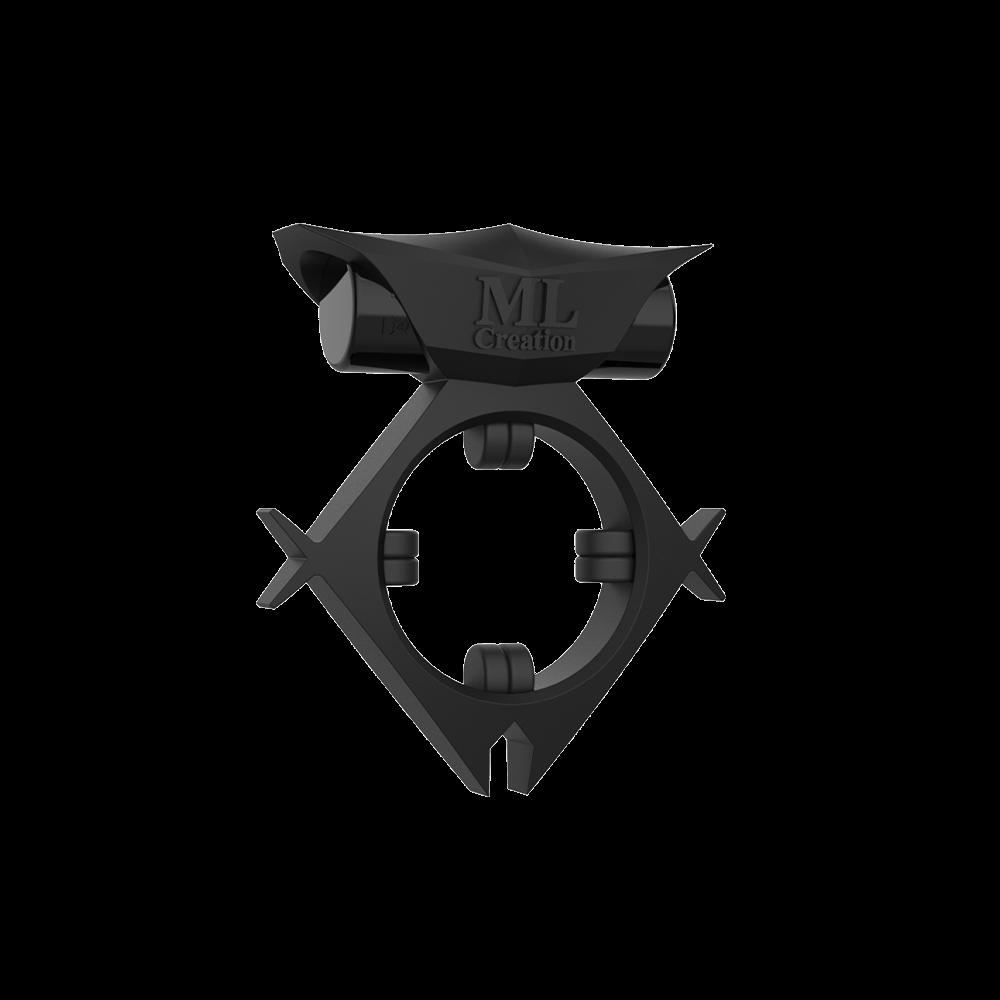 Эрекционное кольцо c вибропулей Batboy Black ML Creation (My Love) - No Taboo