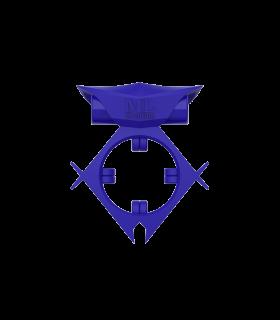 Эрекционное кольцо c вибропулей ML Creation, синее - No Taboo