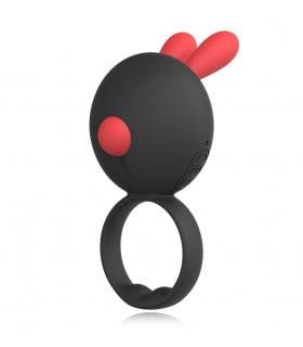 Эрекционное кольцо кролик Rinbit Ridmii с вибрацией - No Taboo