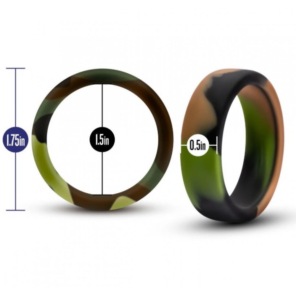 Эрекционное кольцо в камуфляжном цвете (34649), фото 3