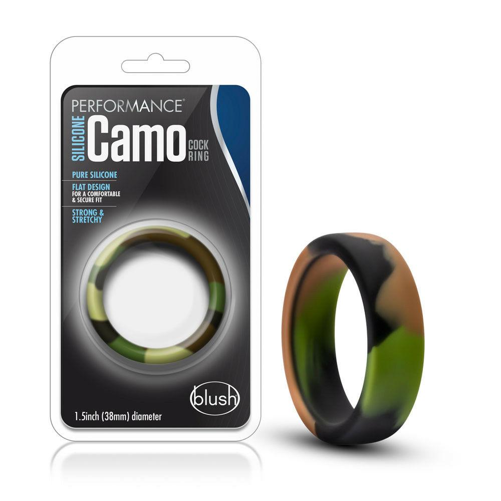 Эрекционное кольцо в камуфляжном цвете (34649), фото 4
