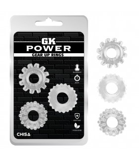 Эрекционное кольцо прозрачное GK Power за 1 шт - No Taboo