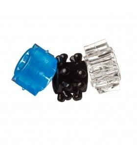 Набор эрекционных колец 3 шт без упаковки - No Taboo
