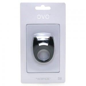 Стильне віброкільце OVO (чорне) (9833), zoom