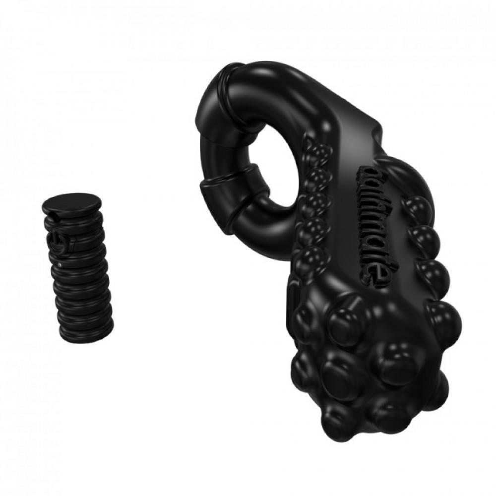 Эрекционное кольцо с вибрацией от Bathmate Tickle со съемной вибропулей, фото 2