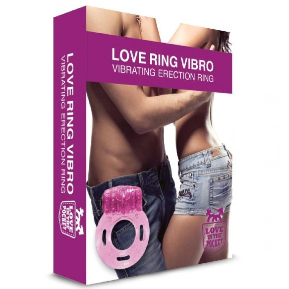 Эрекционное кольцо розвого цвета Love Ringo Erection Ring (34545), фото 3 — секс шоп Украина, NO TABOO