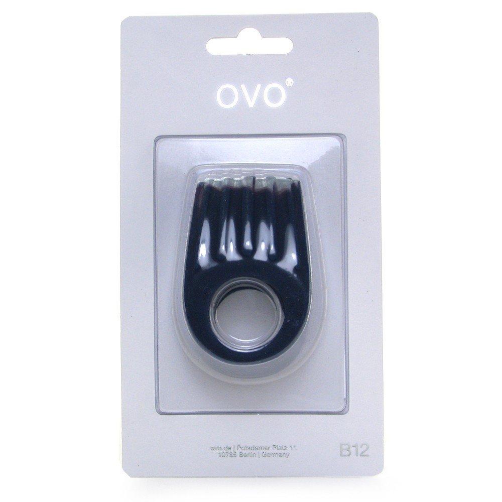 Двойное эрекционное кольцо с вибрацией OVO (9809), фото 2