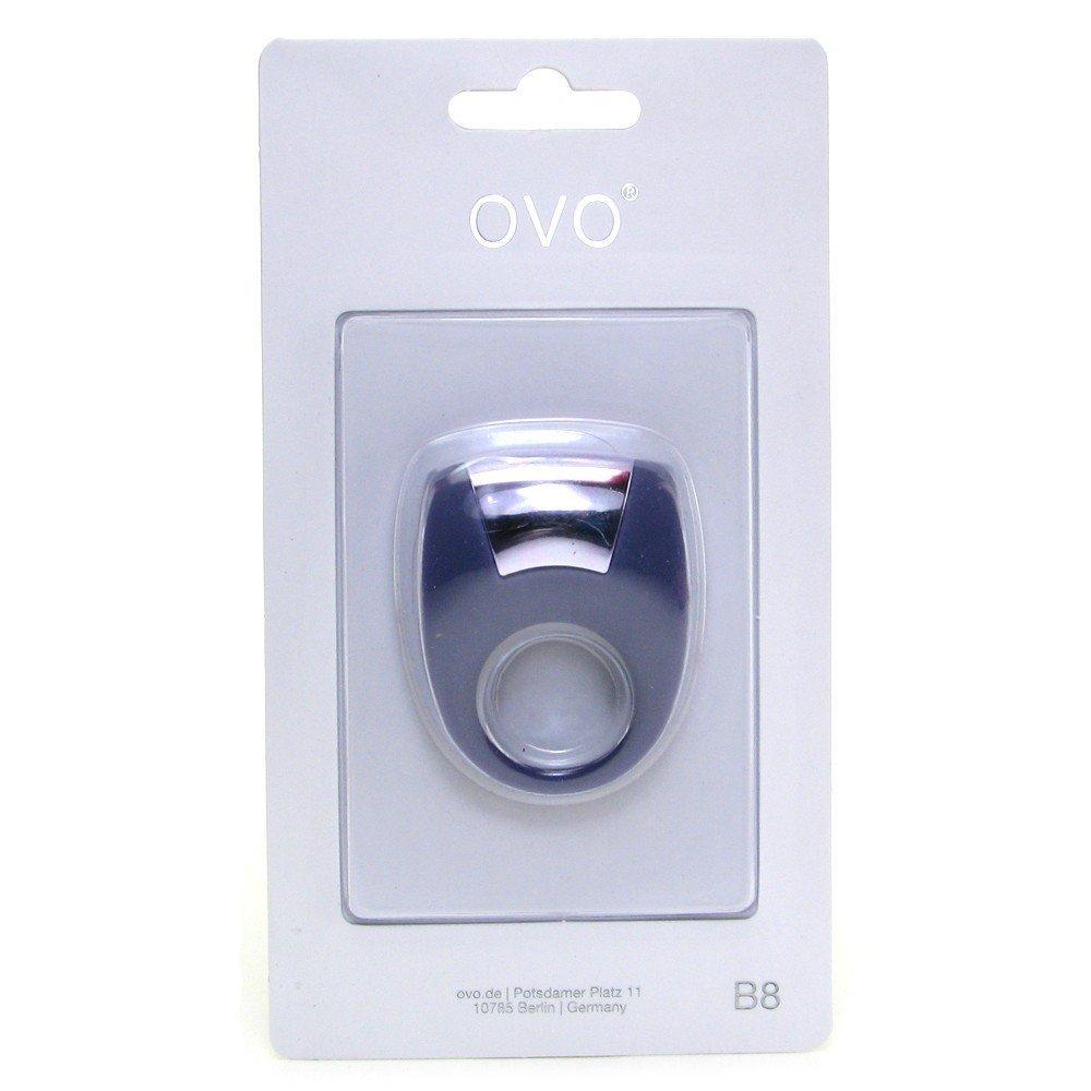Фиолетовое эрекционное кольцо с вибрацией , фото 4