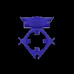 Эрекционное кольцо c вибропулей ML Creation, синее