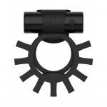 Эрекционное кольцо двойное c вибропулей ML Creation (My Love) Super Ring Black