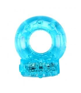 Эрекционное кольцо с вибропулей Resauble Cock Ring - No Taboo