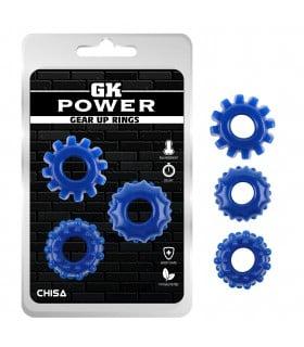 Ерекційне кільце синє GK Power за 1 шт - No Taboo