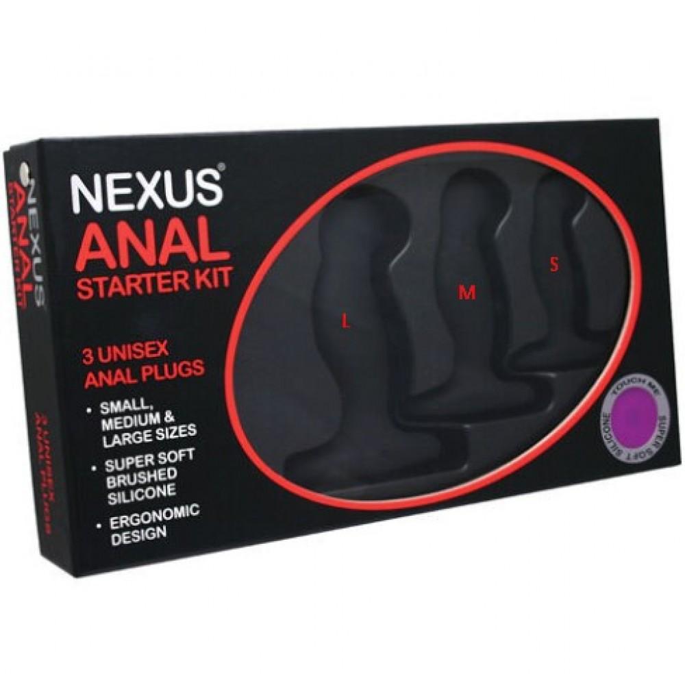 Анальная пробок маленькая Nexus Anal Starter Kit (34618), фото 4
