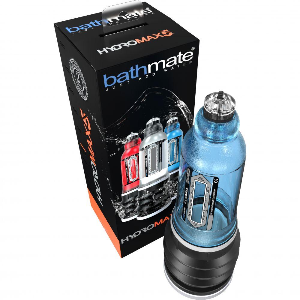 Гидропомпа BATHMATE HYDROMAX 5 для увеличения члена, голубая (32052)