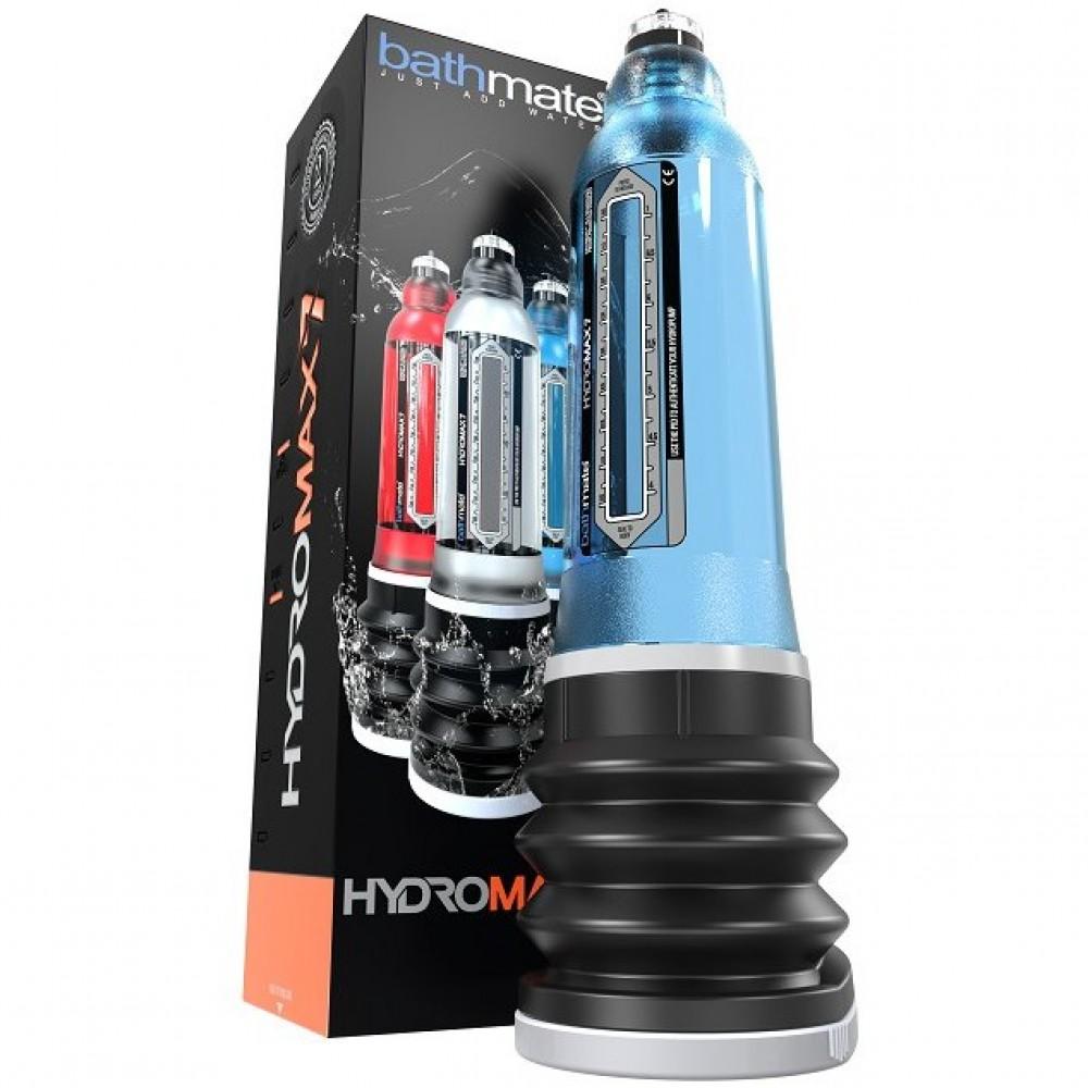 Гидропомпа Bathmate HYDROMAX 7 голубая, фото 4