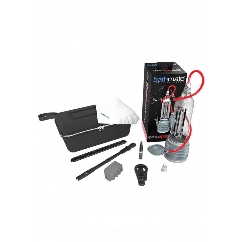 Гидропомпа с вакуумным насосом и комплектом для очистки Bathmate HydroXtreme 11 (32041), фото 4 — секс шоп Украина, NO TABOO