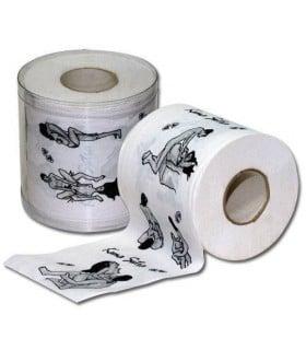 Туалетная бумага в блистере Kama Sutra - No Taboo
