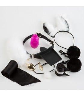 БДСМ набор послушной кошечки Roomfun, 9 предметов - No Taboo