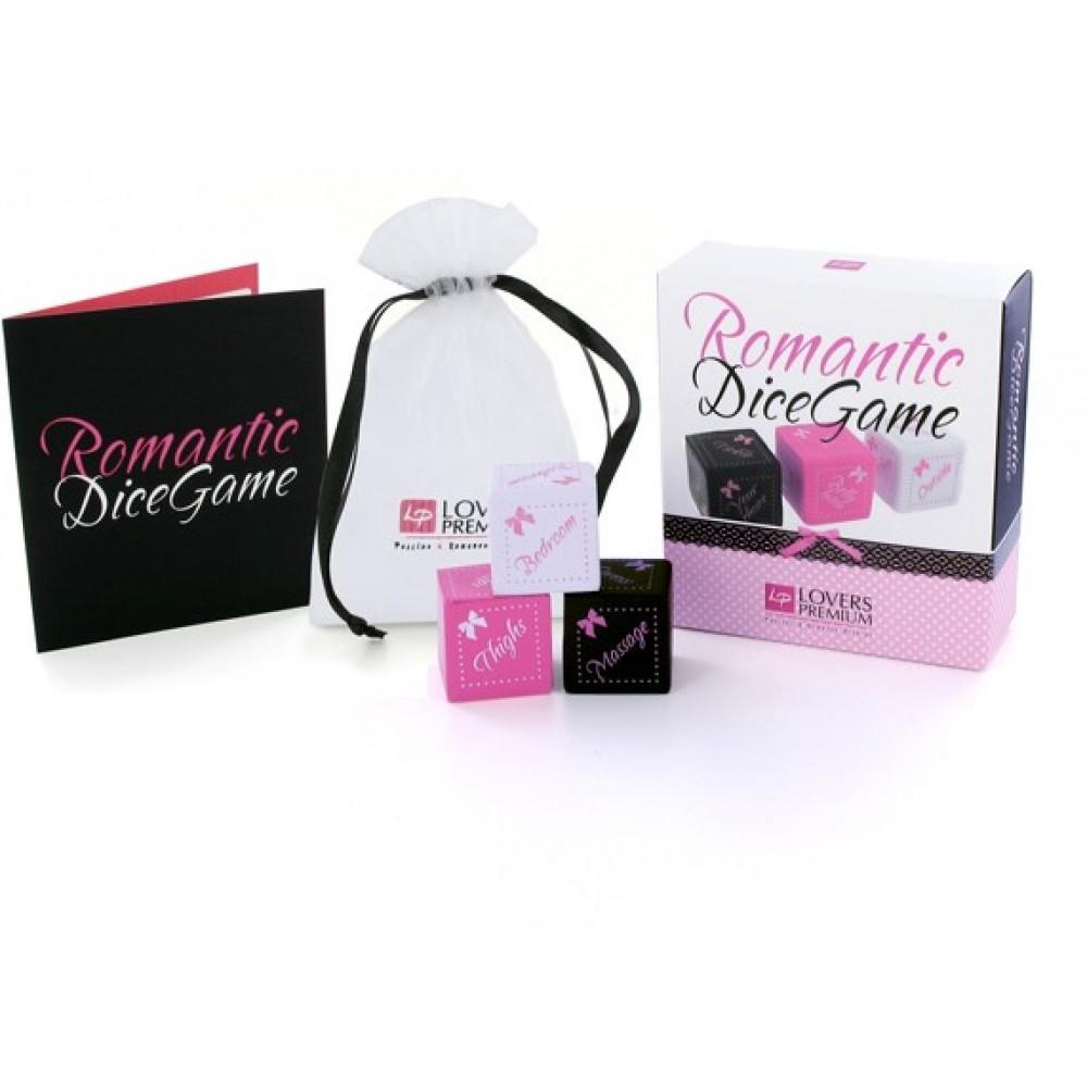 Кубики для эротической игры Lovers Premium, 3 штуки (34361), фото 1 — секс шоп Украина, NO TABOO