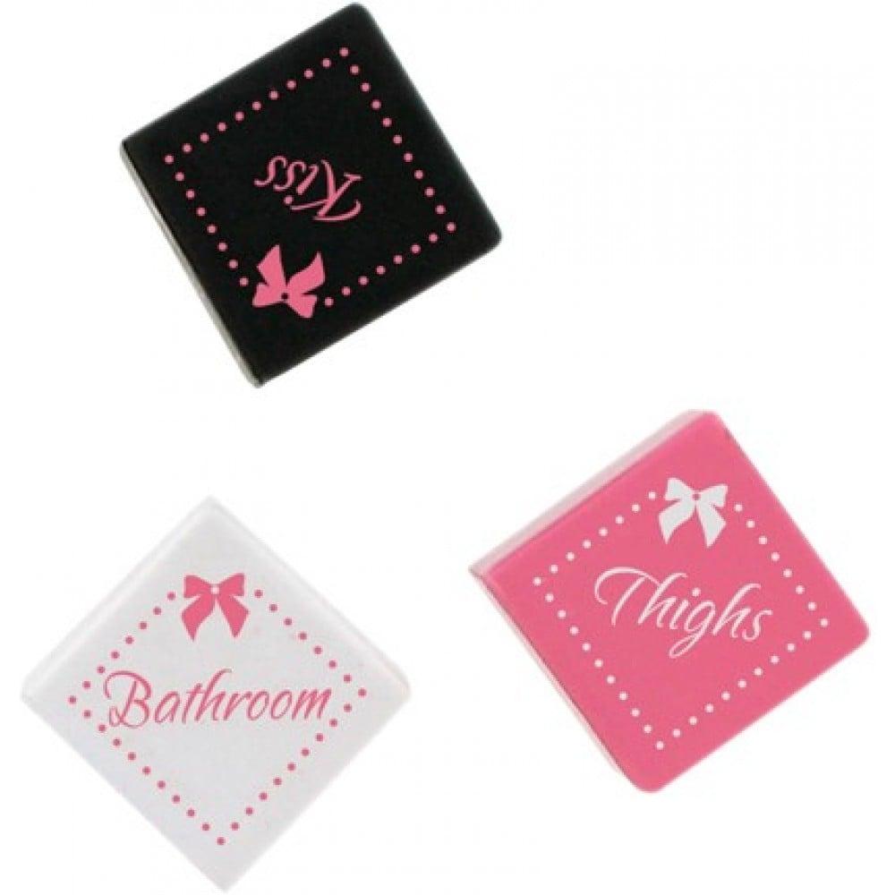 Кубики для эротической игры Lovers Premium, 3 штуки (34361), фото 2 — секс шоп Украина, NO TABOO