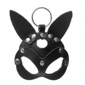 Кожаный брелок БДСМ маска Зайца NO TABOO (32591), zoom