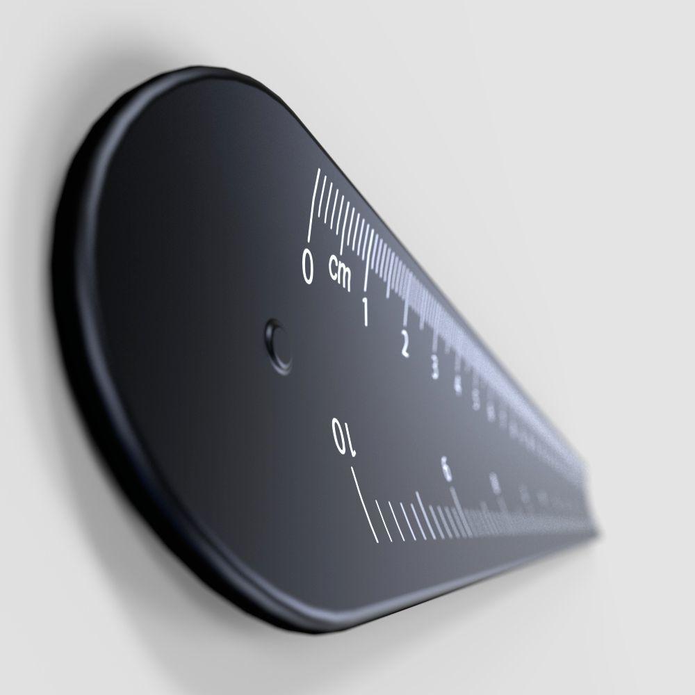 Линейка для измерения пениса Bathmate Measuring Gauge, фото 4