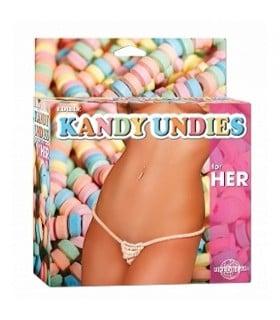 Сексуальные съедобные стринги кофеты Kandy Undies For Her - No Taboo