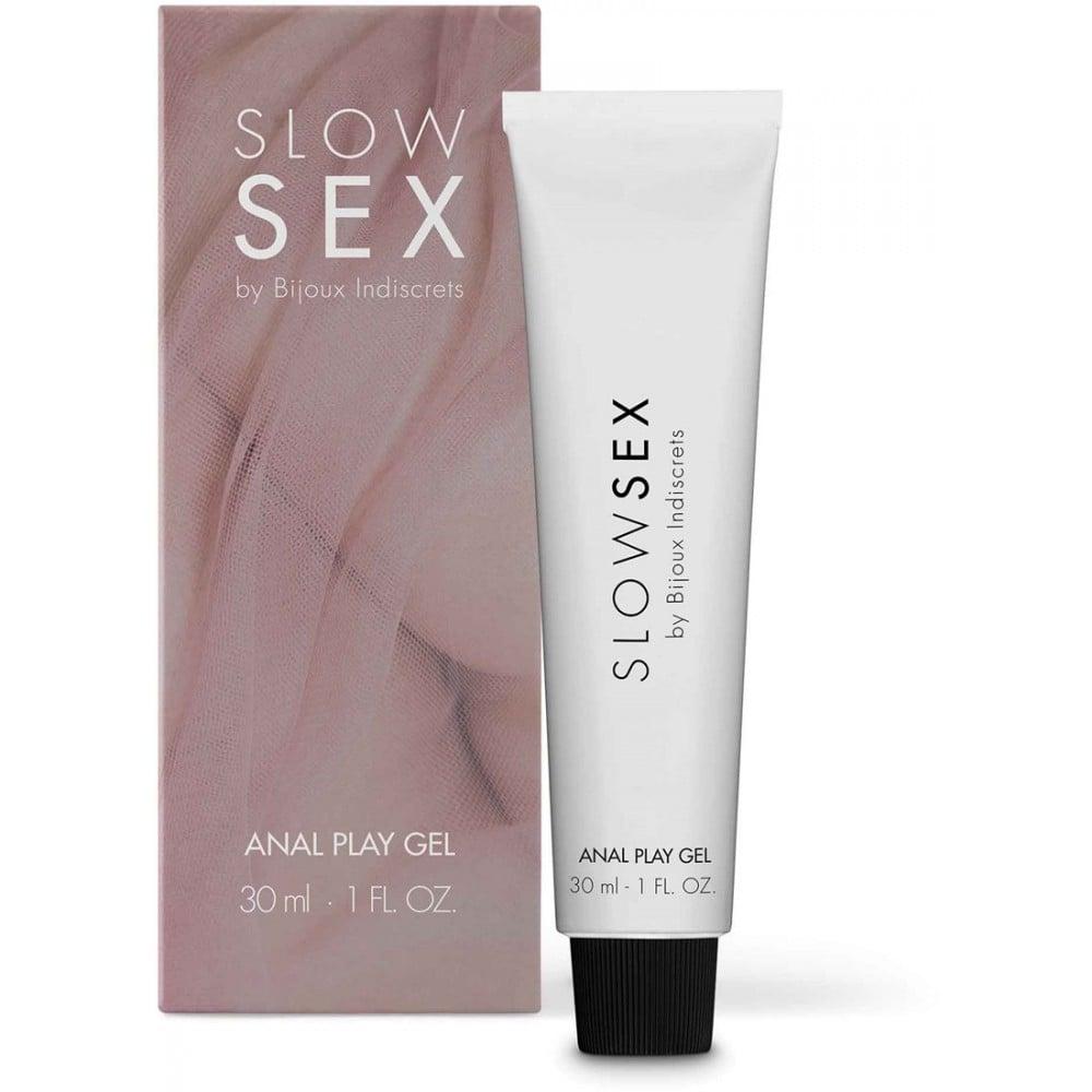 Гель для анальной стимуляции на водной основе ANAL PLAY Slow Sex by Bijoux Indiscrets, 30 мл (34697), фото 1 — секс шоп Украина, NO TABOO