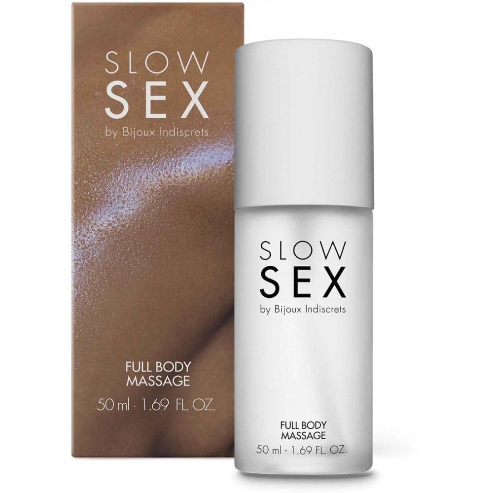 Гель для массажа всего тела FULL BODY MASSAGE Slow Sex by Bijoux Indiscrets (34694), фото 1