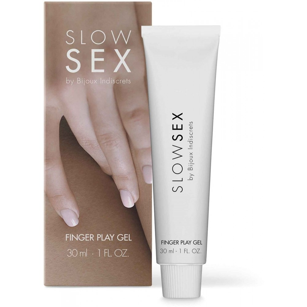 Гель для мастурбации FINGER PLAY Slow Sex by Bijoux Indiscrets, фото 1