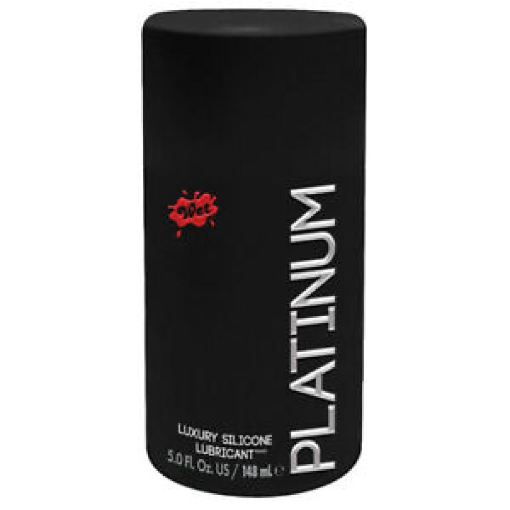 Лубрикант на силиконовой основе Wet Platinum Premium Lubricant, 148 мл (32420), фото 1 — секс шоп Украина, NO TABOO