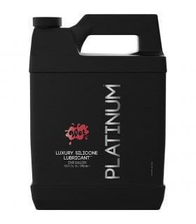 Лубрикант WET Platinum One Gallon 3785mL (Pump) - No Taboo