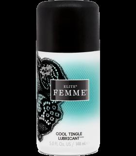 Лубрикант женский с охлаждающим эффектом Water Cool Wet Elite Femme 148 ml