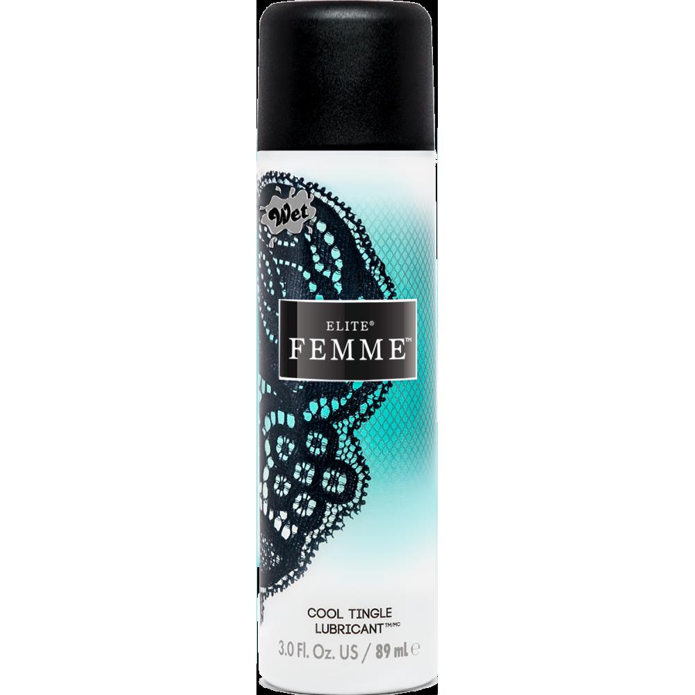 Охлаждающий лубрикант Water Cool Wet Elite Femme 89ml (32430), фото 1 — секс шоп Украина, NO TABOO