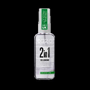 Вагинальный силиконовый органический лубрикант EGZO WOW 2in1 50 ml (34165), zoom