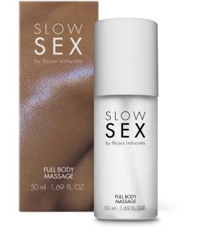 Гель для массажа всего тела FULL BODY MASSAGE Slow Sex by Bijoux Indiscrets