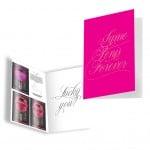 Подарочная открытка с набором Сашетов плюс конверт Kamasutra Same Penis Forever клубничка