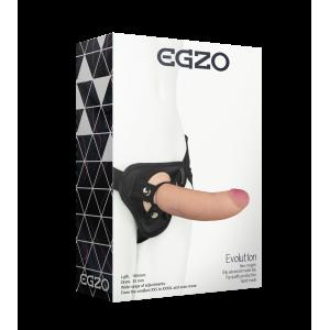 Страпон женский Egzo Еvolution 18 см (34680), zoom