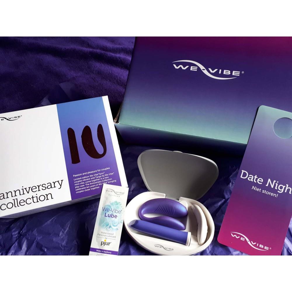 Набор вибраторов от We-Vibe (Вивайб) «We-Vibe Anniversary Collection Sync&Tango» - No Taboo