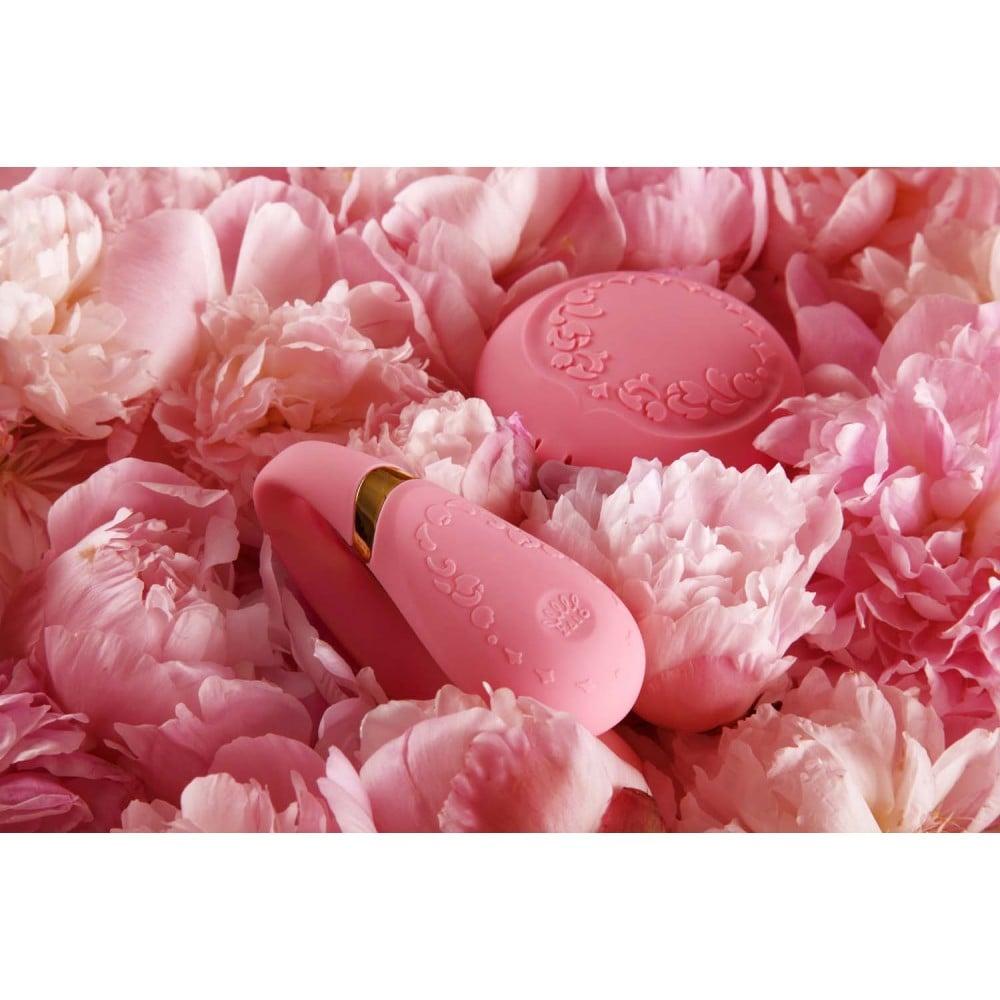 Вибратор для пар с пультом ZALO Fanfan Set Pink , фото 13