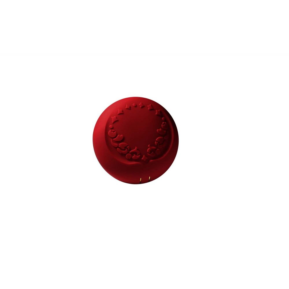 Вибратор для пар с пультом ZALO Fanfan Set Red , фото 6