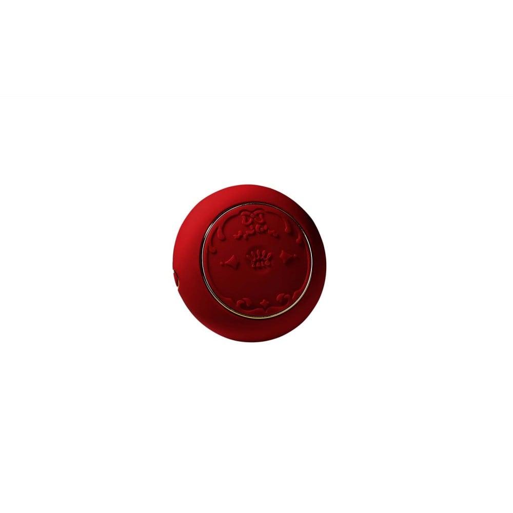 Вибратор для пар с пультом ZALO Fanfan Set Red , фото 7