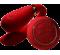 Вибратор для пар с пультом ZALO Fanfan Set Red , фото 2