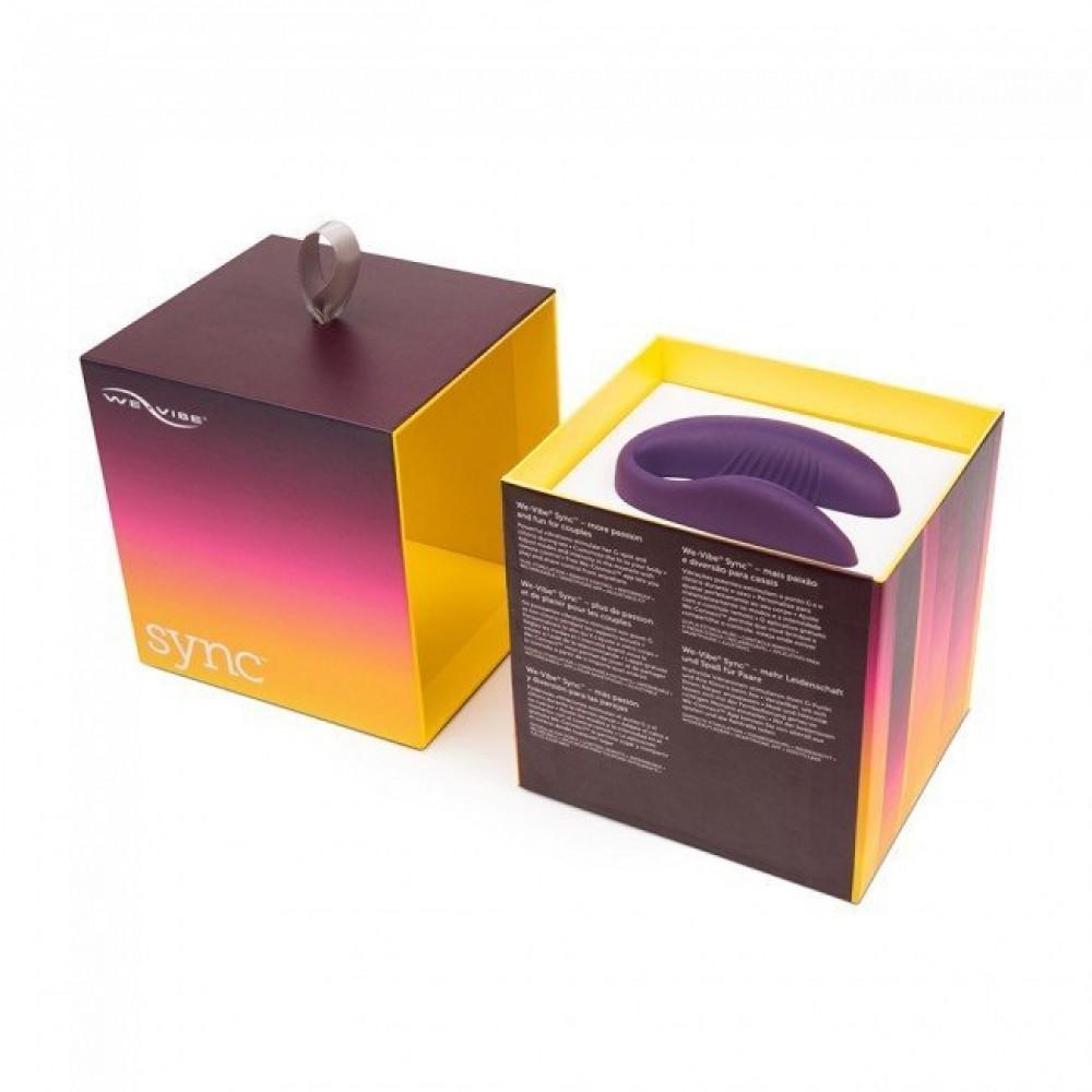 We Vibe (Вивайб) Sync - Инновационный смарт вибратор для пары (26092), фото 1 — секс шоп Украина, NO TABOO
