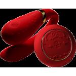 Вибратор для пар с пультом ZALO Fanfan Set, красный