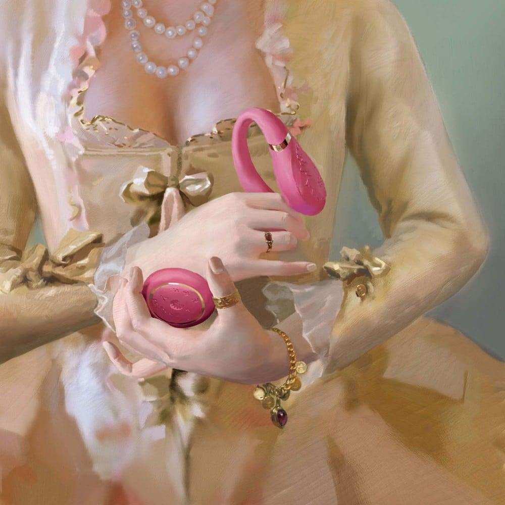 Вибратор для пар с пультом ZALO Fanfan Set Pink (25434), фото 14 — секс шоп Украина, NO TABOO